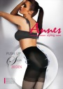 Annes - 20 denier body-shaping tights with push-up action Silva, black, size L