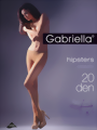 Gabriella - Hipster tights Hipsters 20 DEN, viola size L