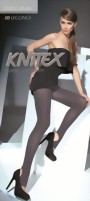 Knittex - Opaque stirrup leggings Giselle 80 DEN, black, size L